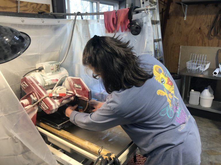 Simona Rosasco of Fyreglas Working